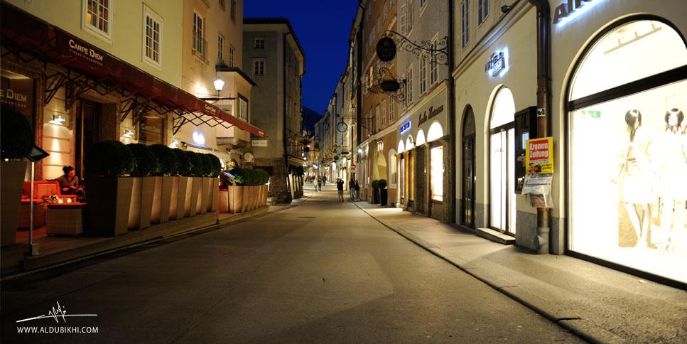 النمسا | سالزبورغ | اليوم الخامس الطريق إليها والفندق وحياة المدينة